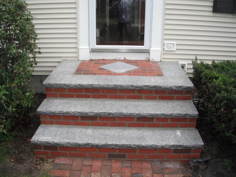 Nantucket brick and Granite